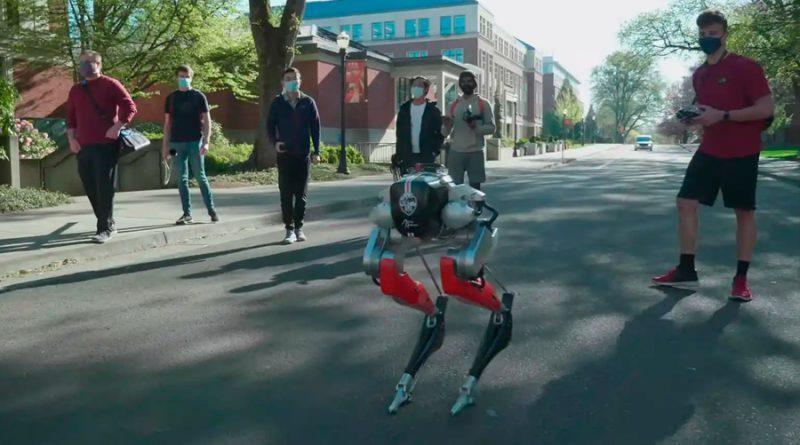 Cassie, el robot que puede correr 5 kilómetros en menos de una hora