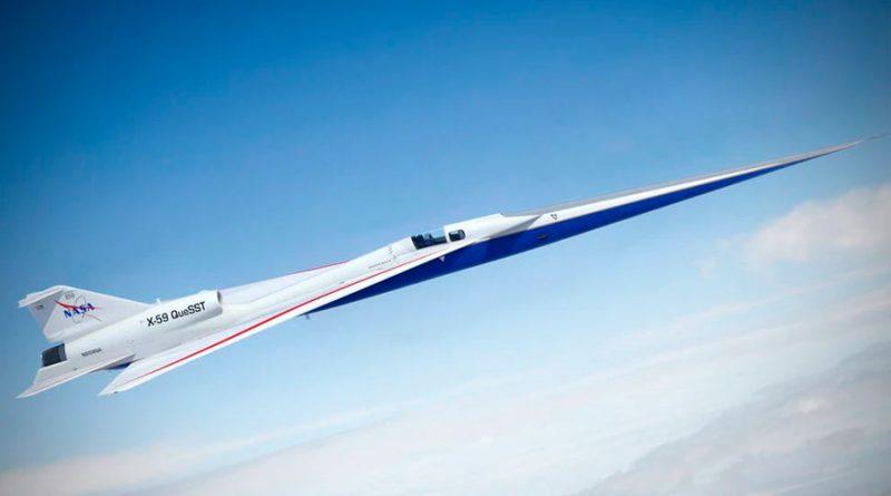 Así se construye el avión supersónico silencioso de la NASA