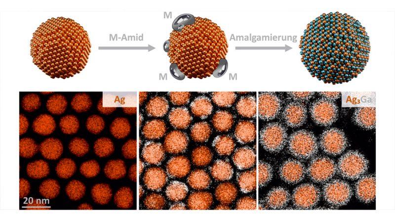 Nanocristales de amalgama abren nuevas aplicaciones tecnológicas