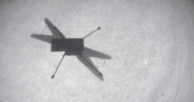 Ingenuity cubre con éxito su undécimo vuelo en Marte