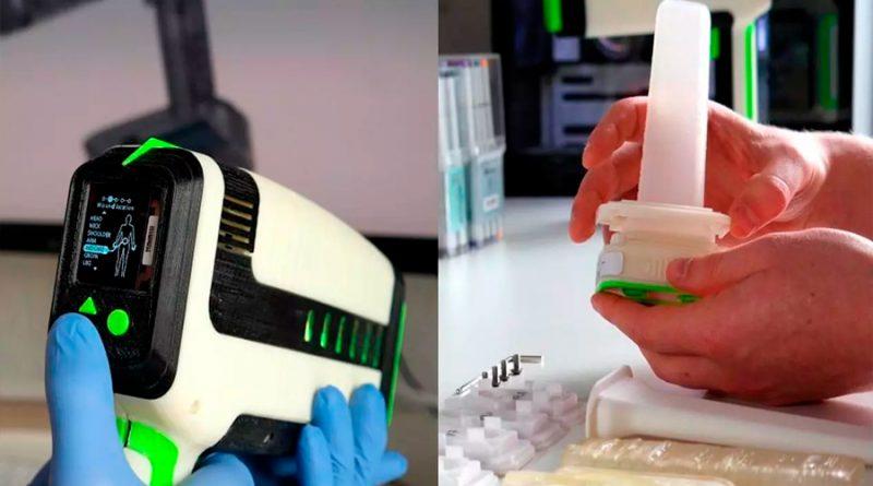 Imprimen en 3D un aparato que para hemorragias en menos de un minuto