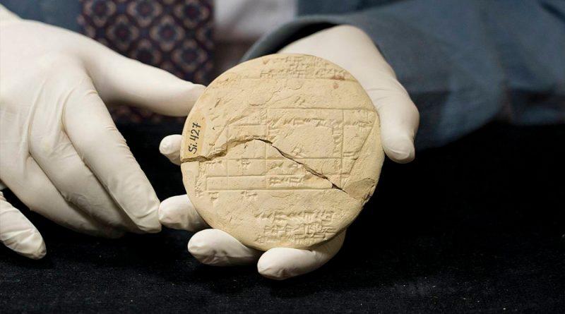Una tablilla babilónica muestra el ejemplo de geometría aplicada más antiguo del mundo