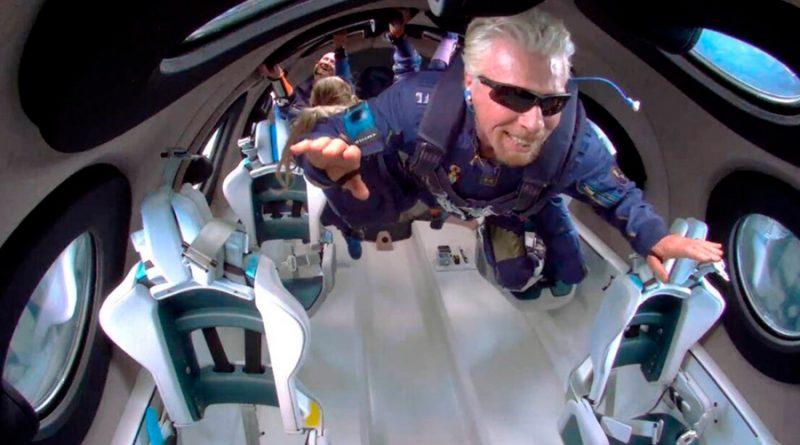 Virgin Galactic informa que sus boletos para viajar al espacio costarán 450,000 dólares