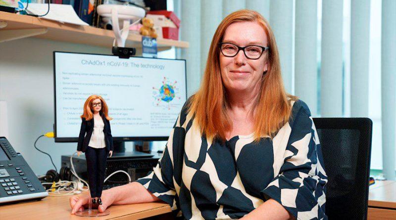 Barbie crea una muñeca en honor a Sarah Gilbert, creadora de la vacuna de Oxford