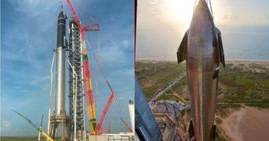 SpaceX ensambla el cohete espacial más grande de la historia