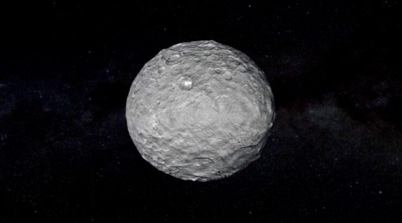 Ceres podría ser habitable: el planeta enano posee una corteza rica en hielo