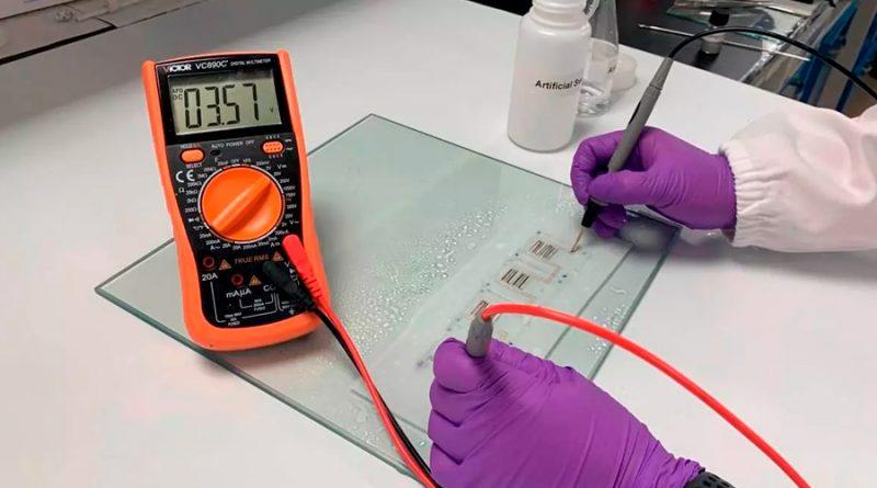Esta batería flexible se carga con sudor humano y no contamina