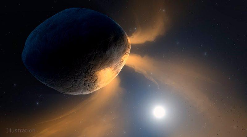 El asteroide Faetón 'usa' sodio y no hielo para brillar como un cometa