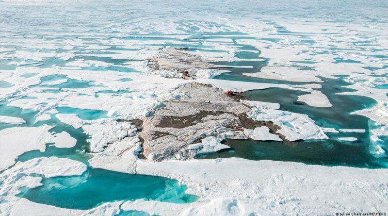 Científicos descubren una nueva isla en Groenlandia