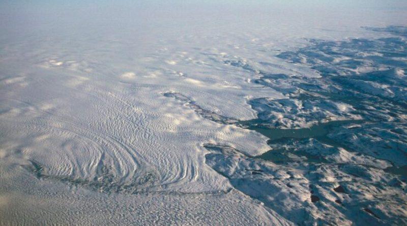 La corteza terrestre se está moviendo por la pérdida de hielo