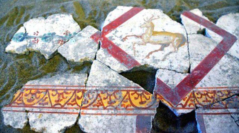 La inteligencia artificial ayuda a reconstruir los frescos de Pompeya