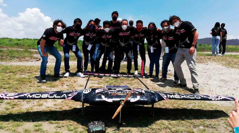 Estudiantes de la UNAM crean nave no tripulada y ganan el SAE Aero Design Internacional