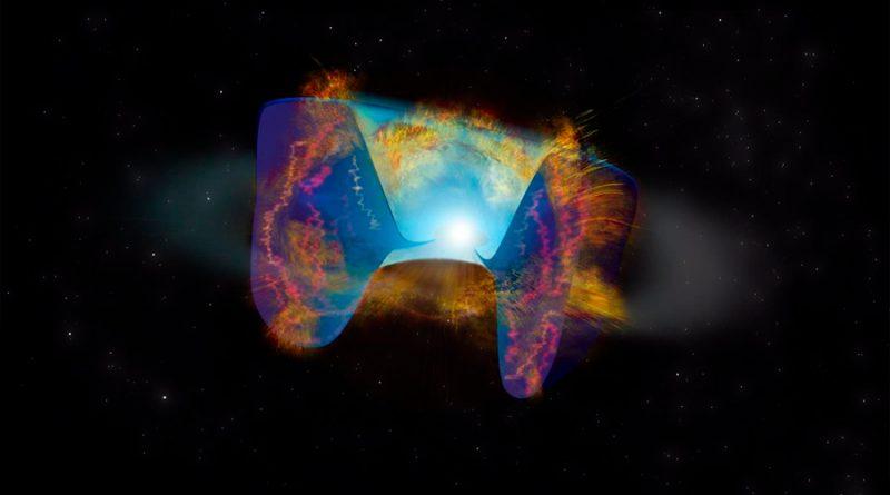 Observan por primera vez una colisión estelar que desencadena la explosión de una supernova