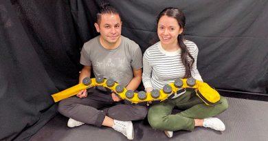 """Robot desarrollado por colombianos que fue portada en la revista """"Science Robotics"""""""