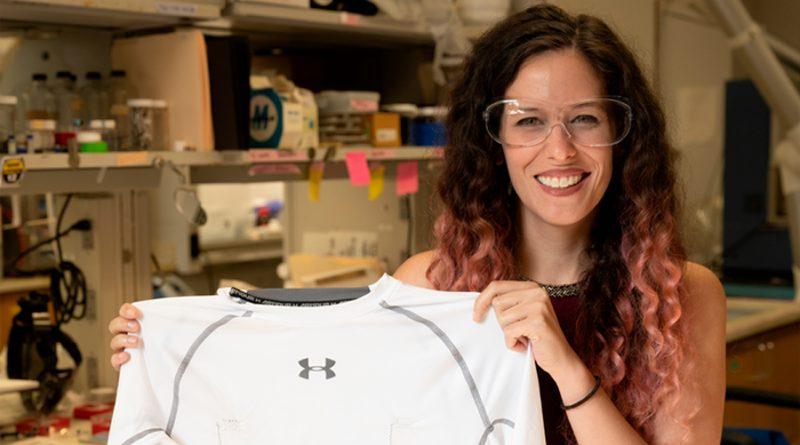 Una camiseta 'inteligente', al servicio de la monitorización del corazón