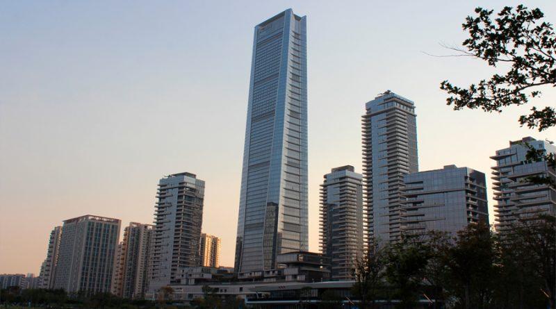 China construye un enorme aire acondicionado que enfría barrios enteros