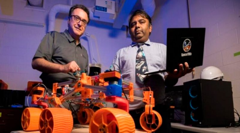 Enjambres de robots autónomos extraerán recursos de la Luna