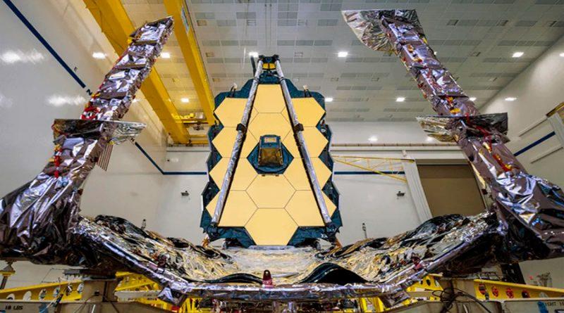 NASA prepara el telescopio más poderoso: James Webb