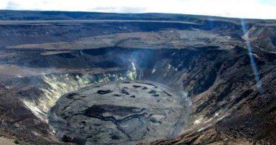 Descubren cómo es el interior de un volcán de hace 3.5 millones de años