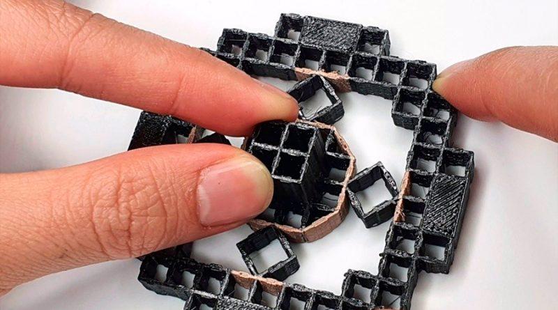 Objetos impresos en 3D sienten cómo un usuario interactúa con ellos