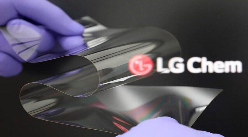 LG presenta su nueva tecnología de pantalla plegable: tan dura como el cristal, pero flexible y casi sin marcas de pliegue