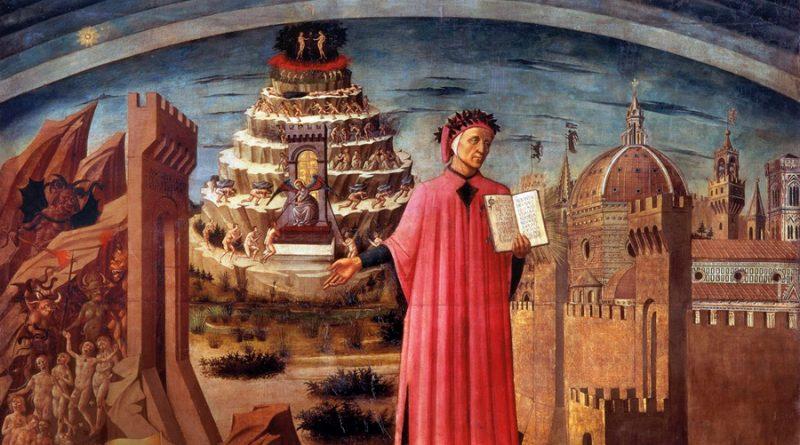 Evocan a Dante Alighieri a 700 años de su muerte