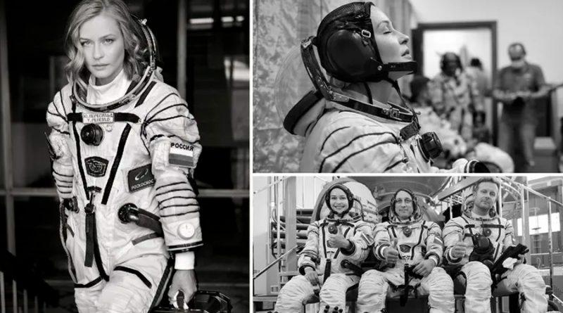 """""""Demasiado tarde para tener miedo"""", dice la actriz rusa que viajará a la ISS"""