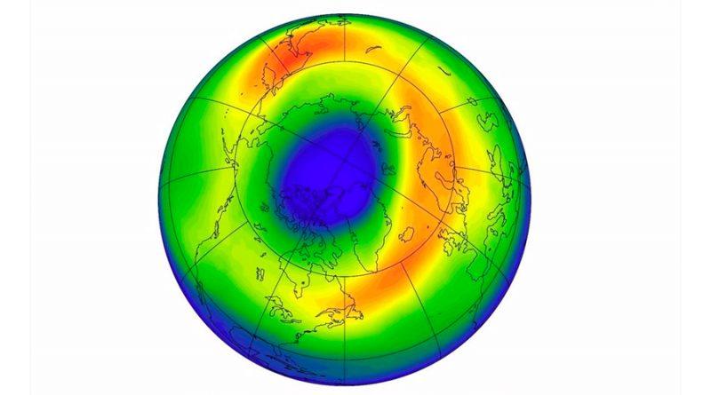 Dan explicación al inesperado agujero de ozono en el Ártico de 2020