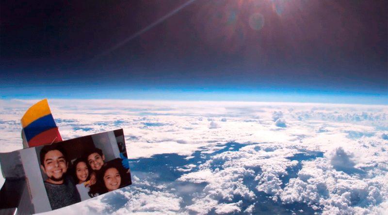 Colombiano que grabó la estratosfera rompió un récord mundial