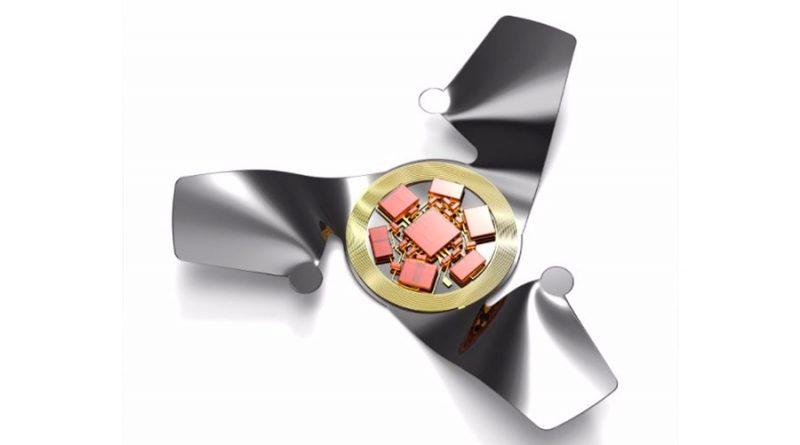 Este microchip alado es la estructura voladora artificial más pequeña