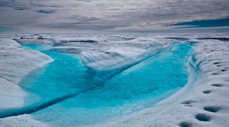 El deshielo polar está cambiando también la corteza terrestre