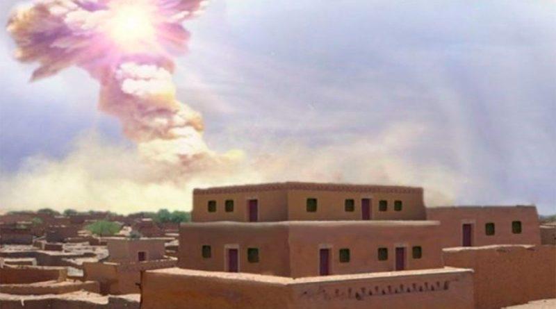 """""""Nadie sobrevivió"""": la antigua ciudad que fue arrasada por una explosión en el cielo"""