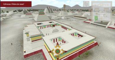 UNAM crea software para recorrer Tenochtitlan