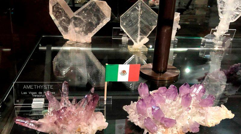 Los minerales también describen la historia de México