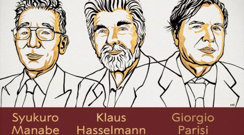 Premio Nobel de Física para Syukuro Manabe, Klaus Hasselmann y Giorgio Parisi, los teóricos de los sistemas complejos