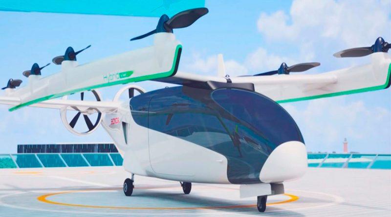 El coche volador que Honda desarrolla para 2030