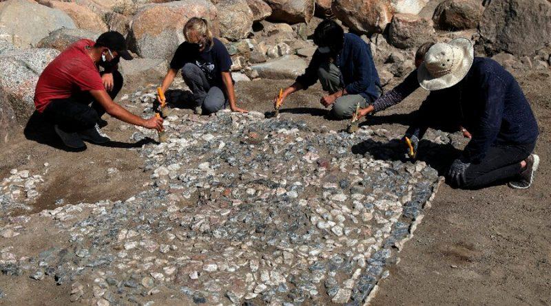 Descubren un antiguo mosaico hitita en turquía