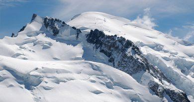 El gigante 'mermante' de los Alpes: cómo el Mont Blanc pierde 21 centímetros cada año