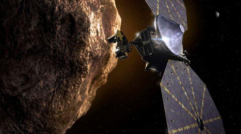 Lucy, la misión que estudiará por primera vez los asteroides troyanos