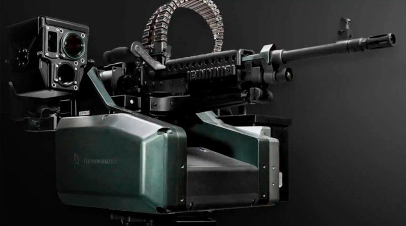Esta ametralladora puede detectar, clasificar y rastrear objetivos sin necesidad de un humano