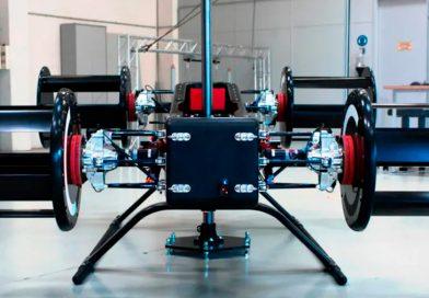Primer vuelo del Cyclotech, el avión eléctrico eVTOL con rotores horizontales