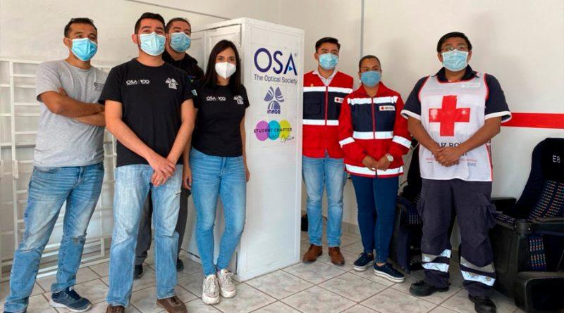 Estudiantes mexicanos construyeron cabinas de desinfección médica contra SARS-CoV-2